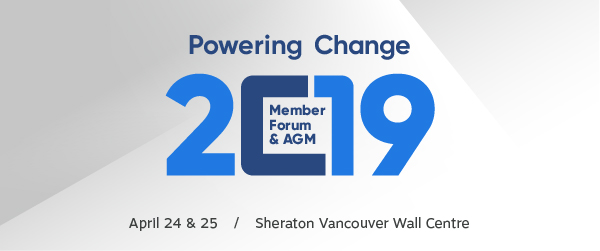 Power change at the 2019 Member Forum & AGM