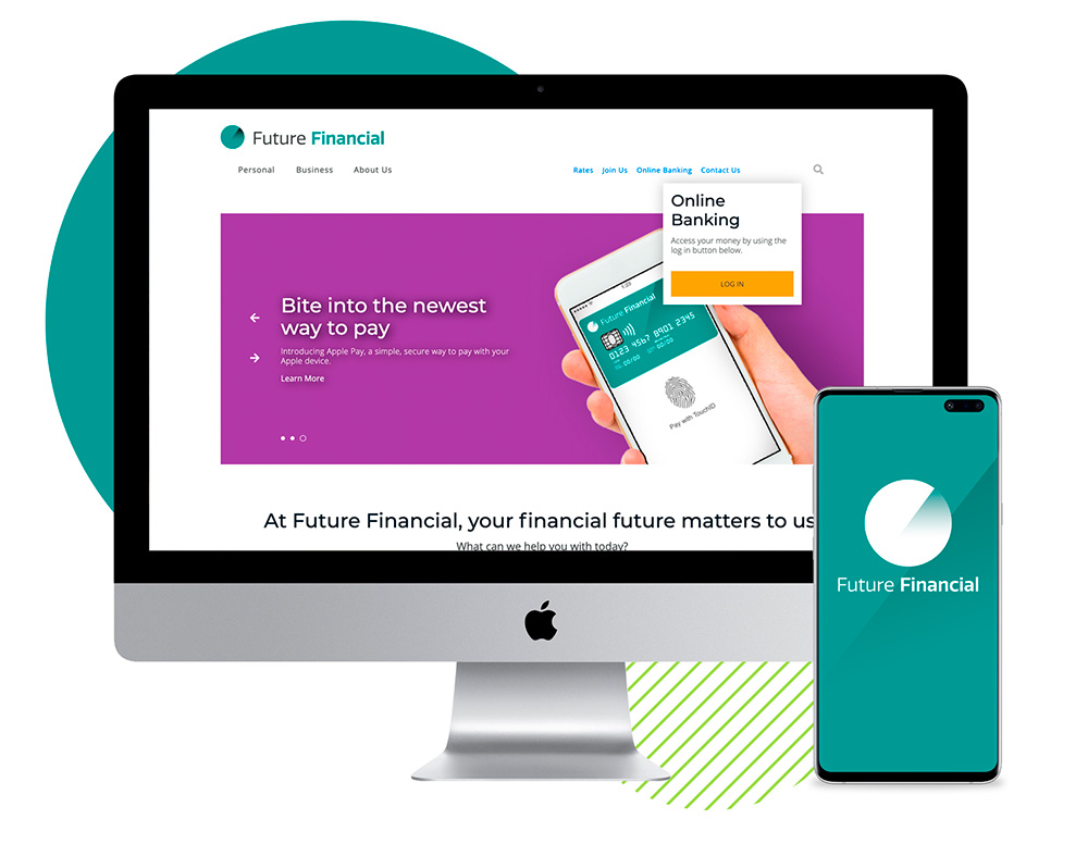 Future Financial Website Sample