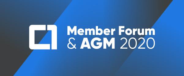 Member Forum & AGM 2020