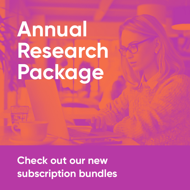 Annual Research Package. Check out our new subscription bundles.