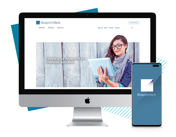 Blueprint Website Sample