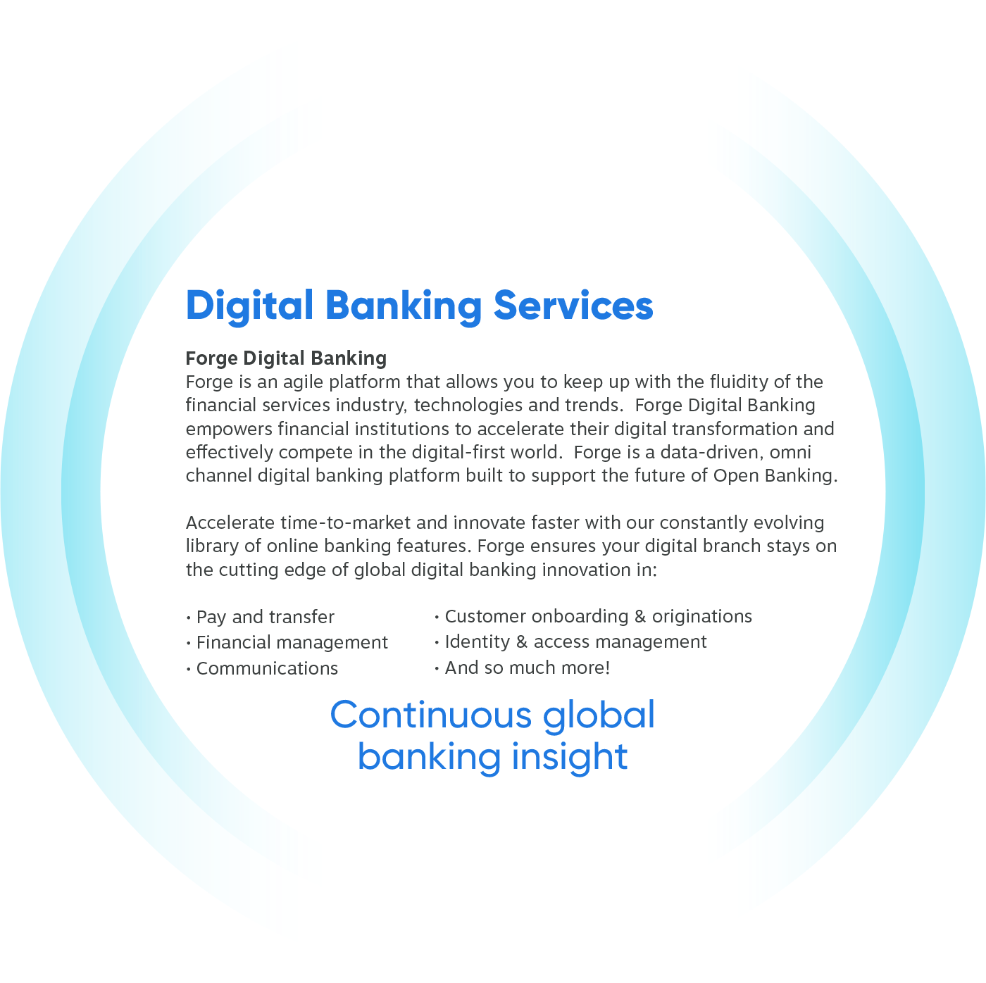Digital Banking Services Layer