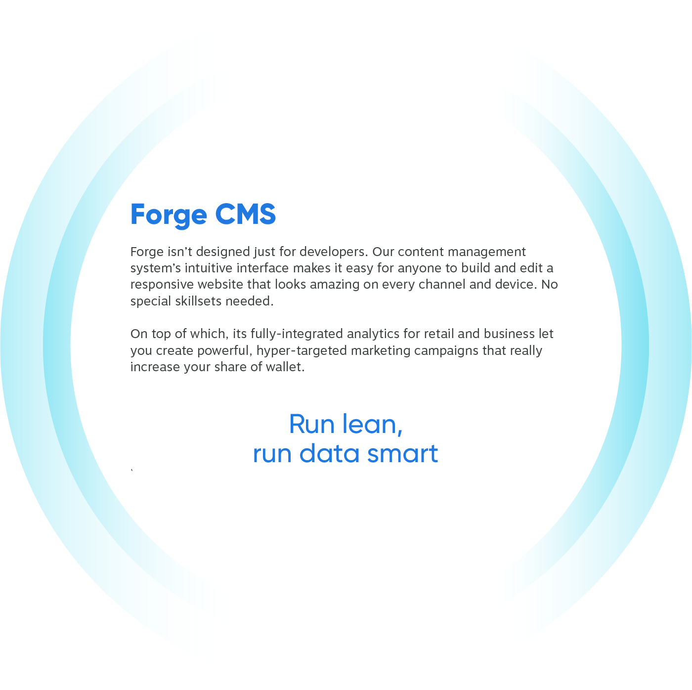 Forge CMS Layer