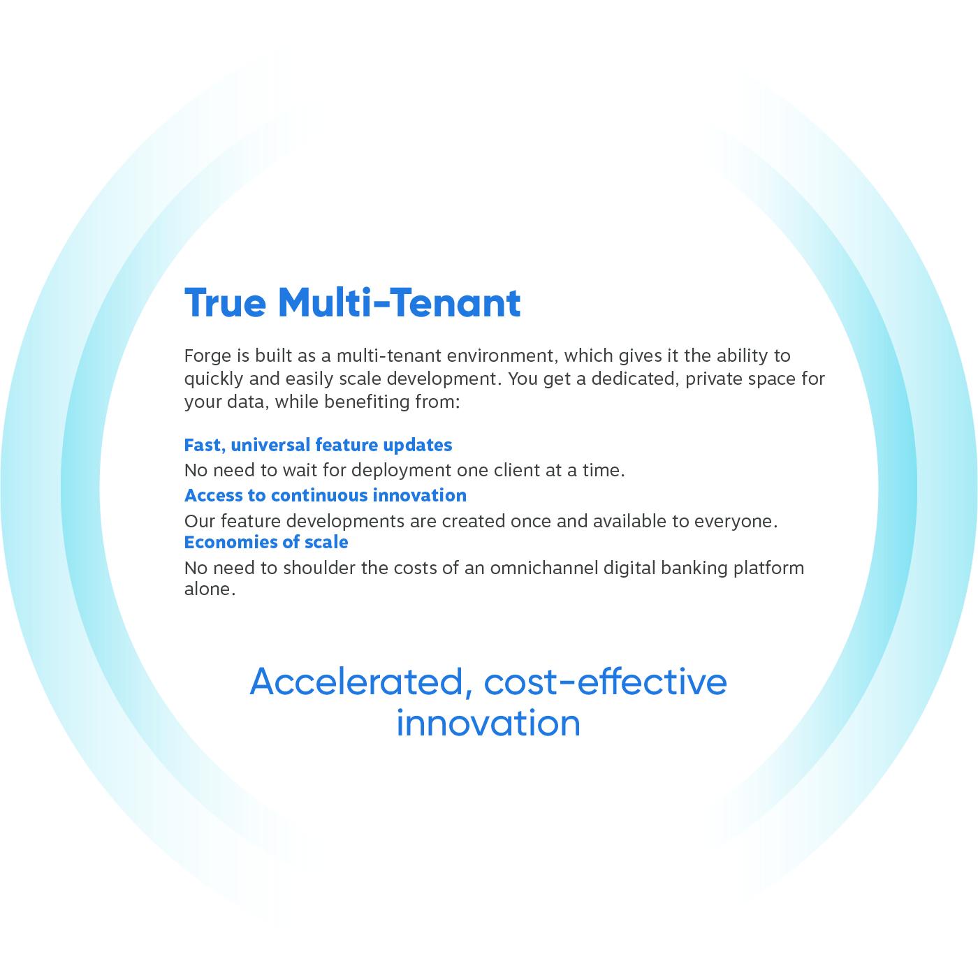 True Multi-Tenant Layer