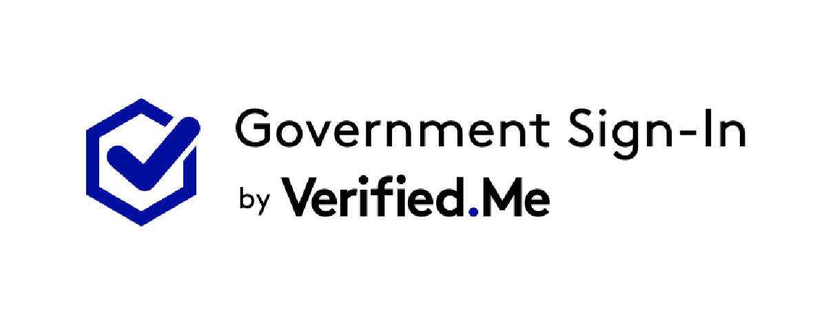 Government Sign-In by Verified.Me logo